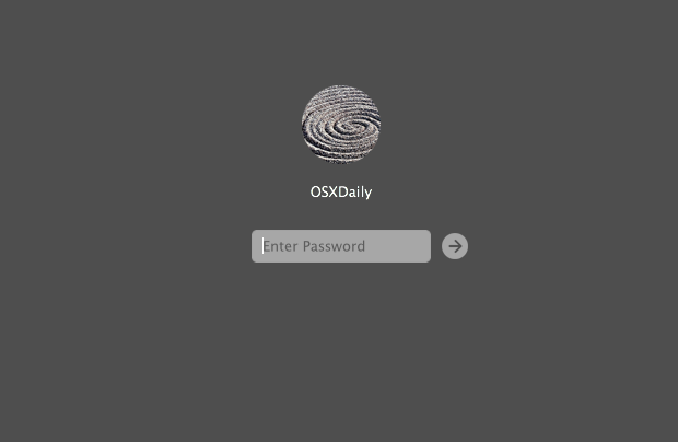 Hide a user account from the OS X login screen