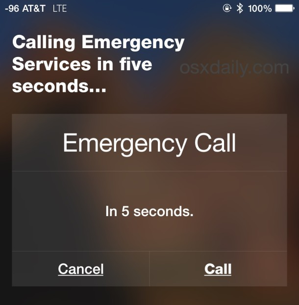 Call emergency services with Siri and iPhone if necessary