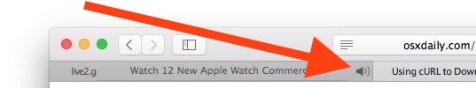 Mute a specific tab in Safari
