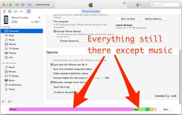 Erase and Sync will only delete the iTunes content, nothing else