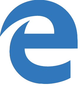 Microsoft Edge icon transparent