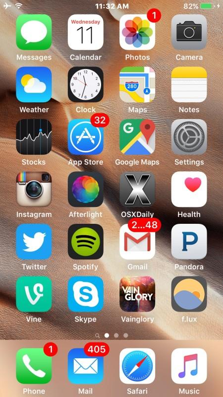 Sideloaded iOS app successful