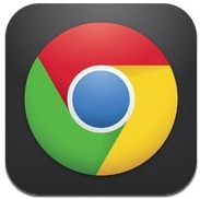 Chrome web browser for iOS