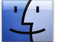 The Mac OS X Finder icon