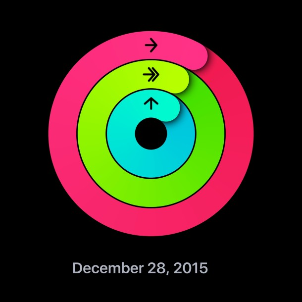Share activity ring on Apple Watch and iPhone
