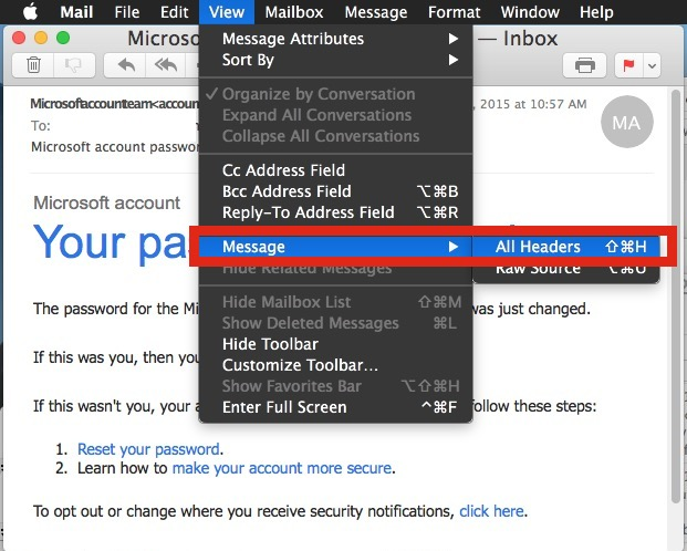 Show full long email header in Mail for Mac OS X