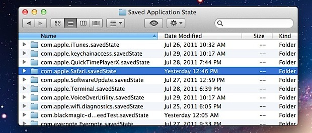 Turn off Per-App Resume in OS X Lion