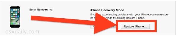Downgrade iOS 10 beta