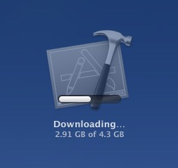 View the download status of an App Store app in Launchpad on Mac