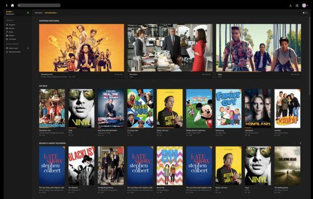 Plex is a great video player for Mac and arguably the best video media center app