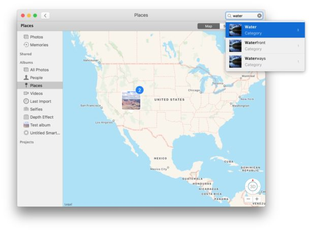 Search for attributes in Photos on Mac