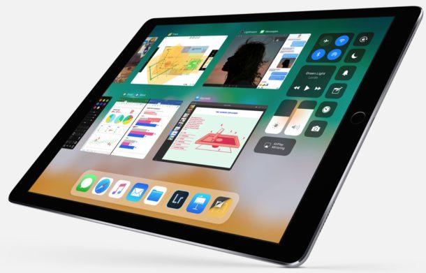 Multitasking on the iPad