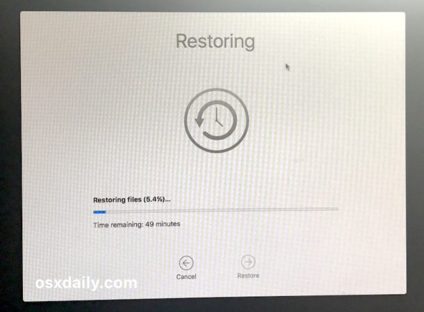 Time Machine backup recoveryup to downgrade from High Sierra beta