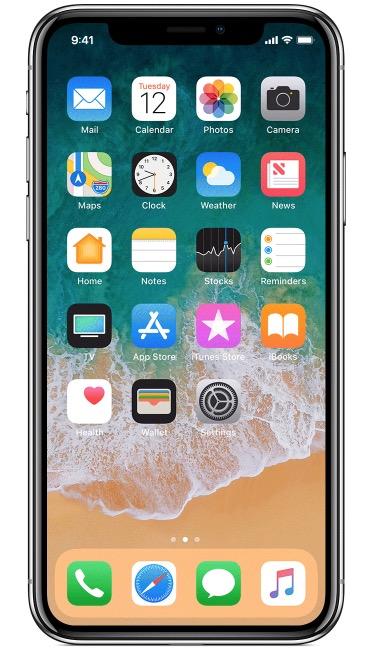 New iPhone X hooray