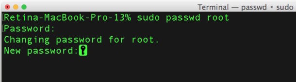 Do not stop root login with password, but in macOS High Sierra from command line