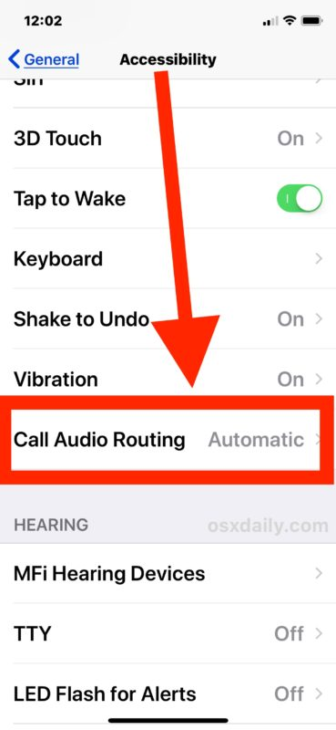 Turn on automatically answer iPhone calls