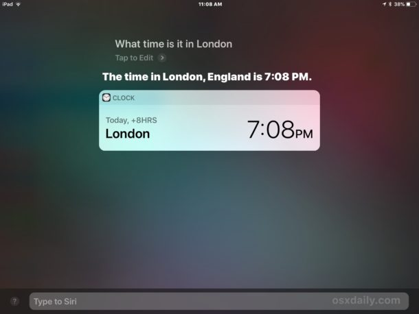 Type Siri and reply with a command on iOS