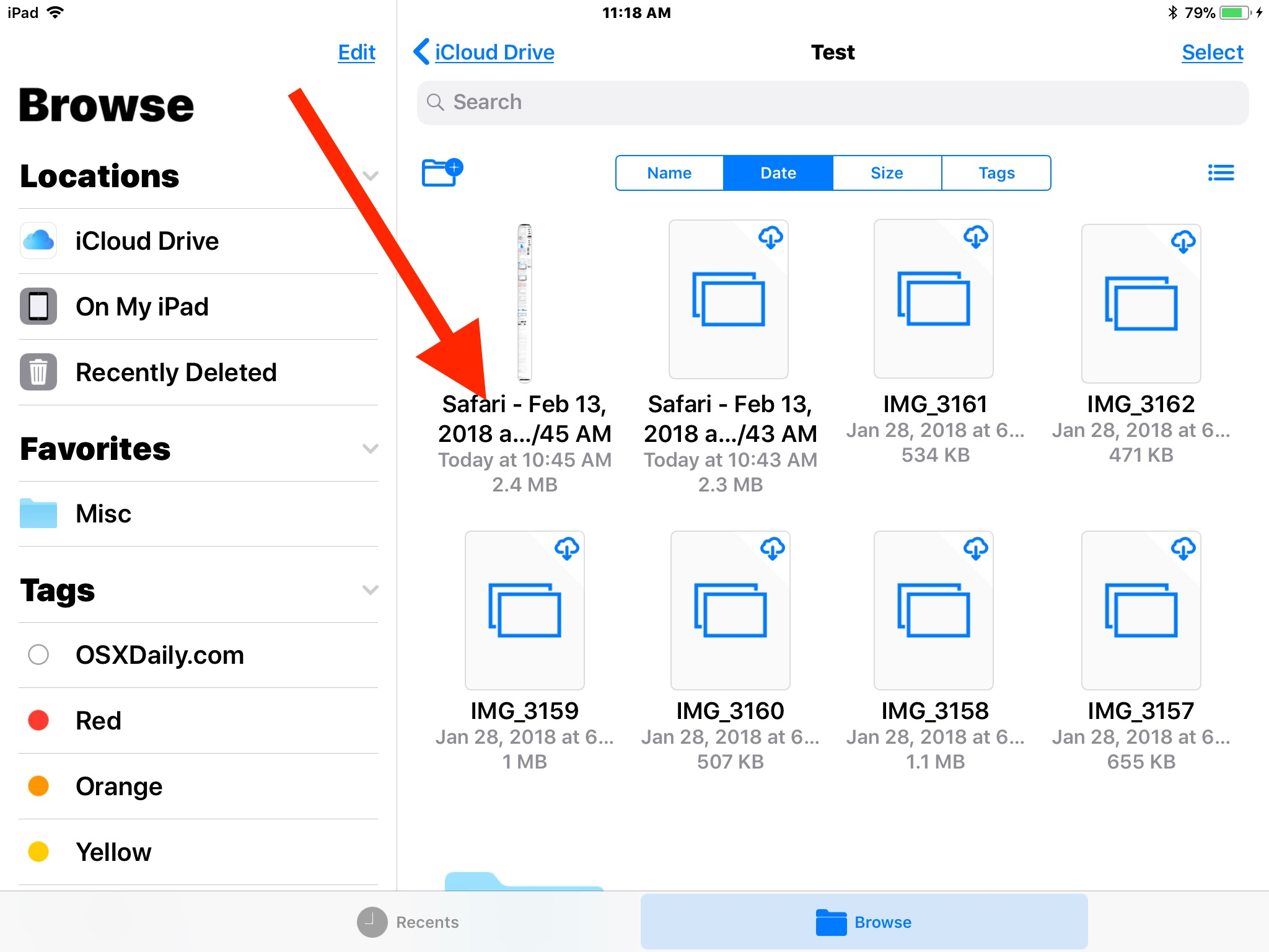 How to    rename files and folders in iOS