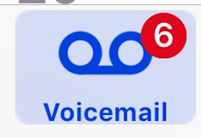 How to    check blocked caller voicemail messages on iPhone