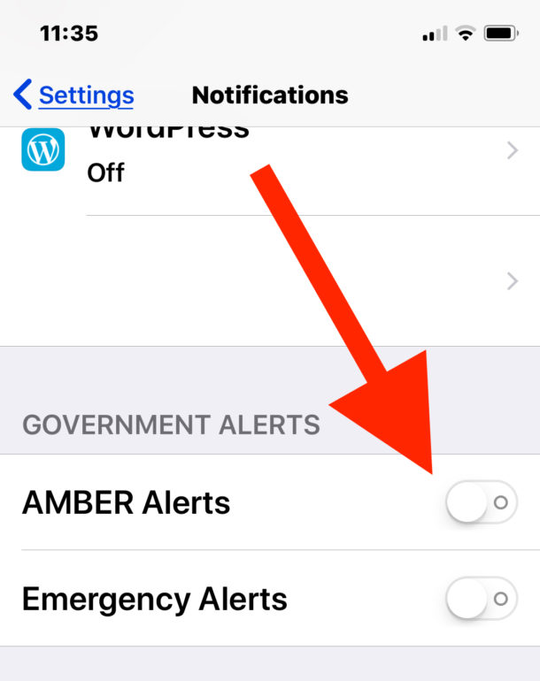 How to    Disable Emergency Alerts and Government Alerts on iPhone