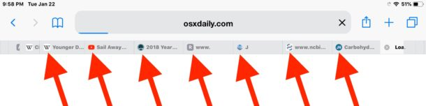 Website favorite icons in Safari for iOS