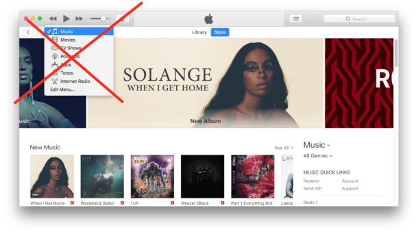 Cannot find iTunes music library because it is searching in the wrong place