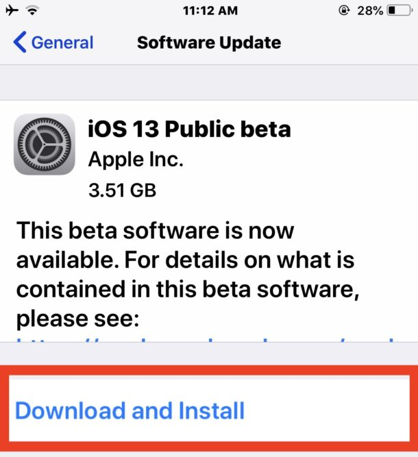 Download and install the iOS 13 public beta on iPhone