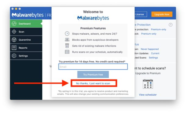How to    scan a Mac for malware and adware with Malwarebytes