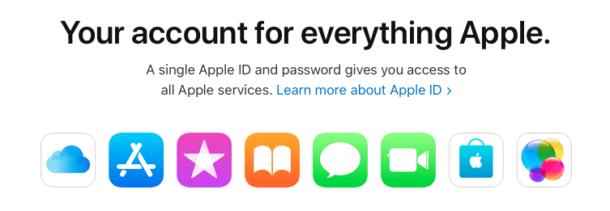 Apple ID description