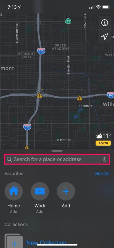 How to    Use Browse Maps for iPhone