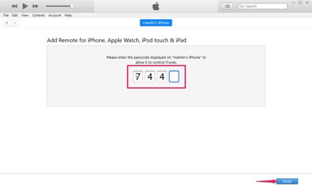 How to    Configure and use the iPhone as an iTunes Remote