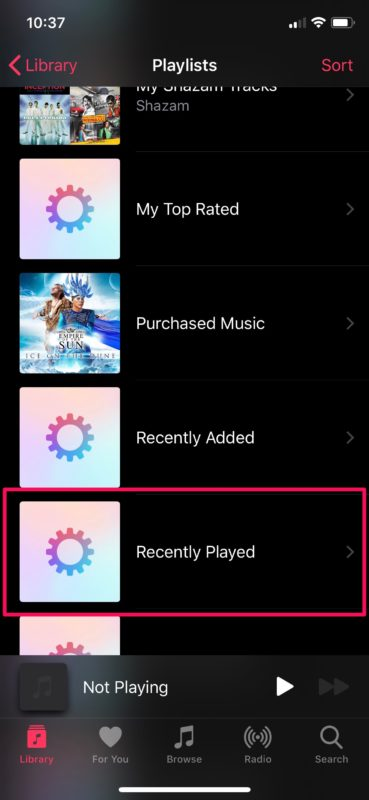 How to    View your recently played songs in Apple Music