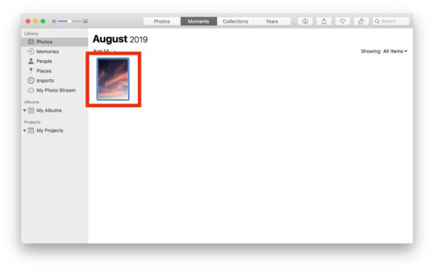 How to    rotate an image in Photos on Mac
