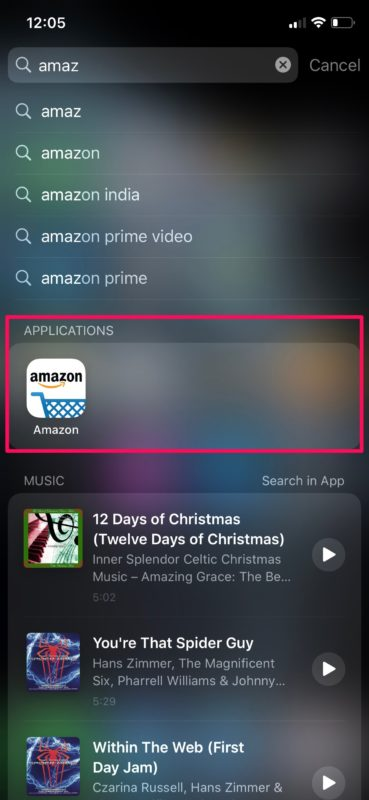 How to    Search on iPhone and iPad with Spotlight
