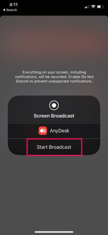 How to    Share iPhone and iPad screen with AnyDesk