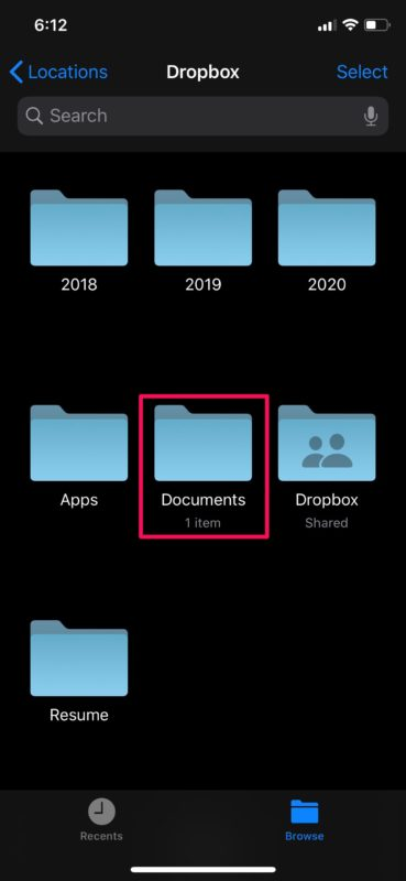 How to    Access and edit Dropbox files from iPhone and iPad