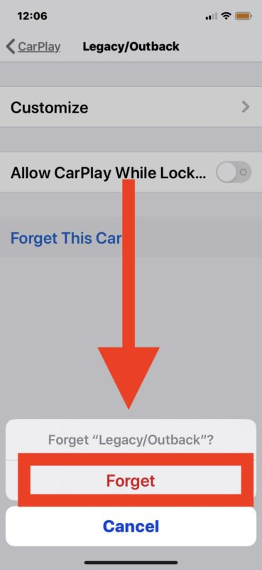 How to    Switch off CarPlay
