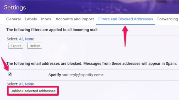 How to    Block and unblock on Gmail