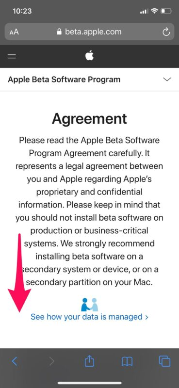 How to    Sign up for iOS 14 and iPadOS 14 Public Beta