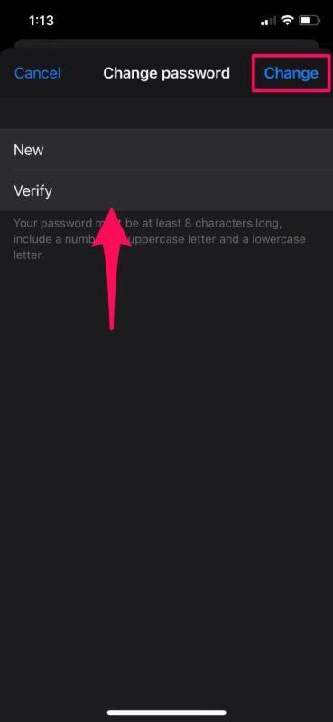 How to    Change iPhone Apple ID password