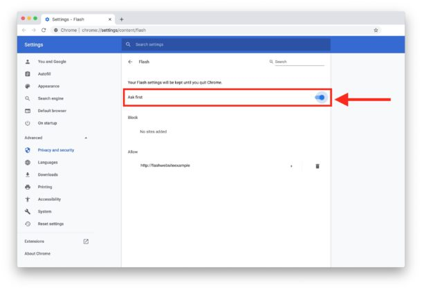 How to    Enable Chrome in MacOS