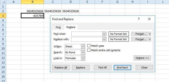 Excel distance 7