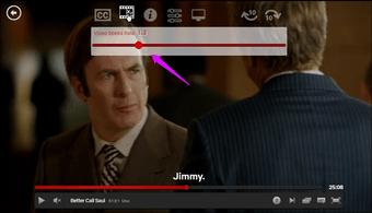 Change the Netflix playback speed 3