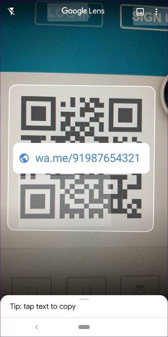 QR code for WhatsApp 7