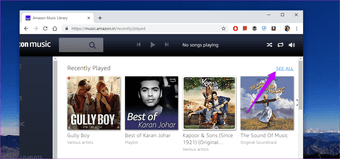 How to Clear Song History on Amazon Music 4