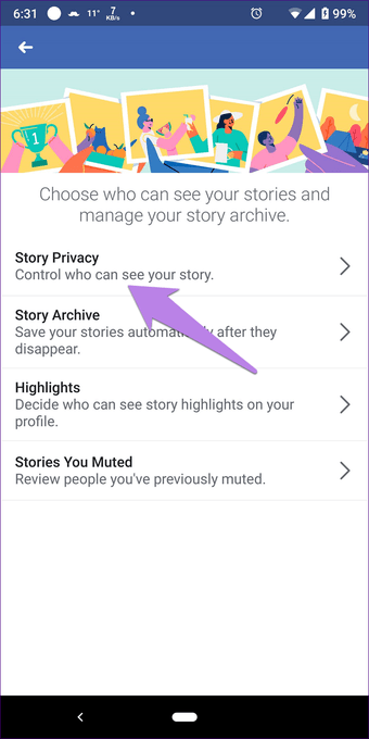 Add multiple photos to Facebook Fb and Messenger story 24