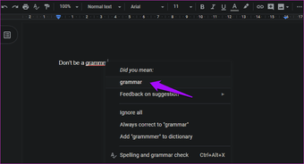 Fix spell check not working in Google Docs 9