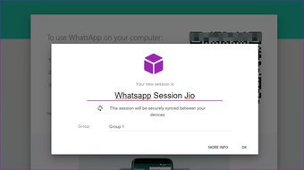 Open multiple Whatsapp web accounts and sessions in Chrome 3