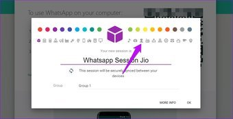 Open multiple Whatsapp web accounts and sessions in Chrome 4