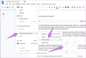 Google Docs Other Header Footer 9